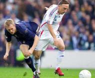 Euro-2008, apuramento: Escócia-França