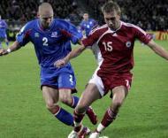 Euro-2008, apuramento: Letónia-Islândia