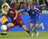 Euro-2008, apuramento: Portugal-Azerbaijão