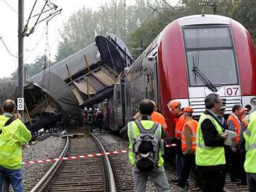 Acidente de Comboios em França