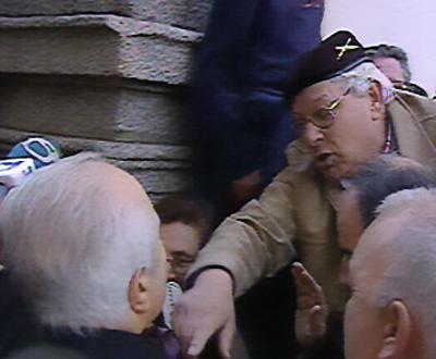 Mário Soares agredido