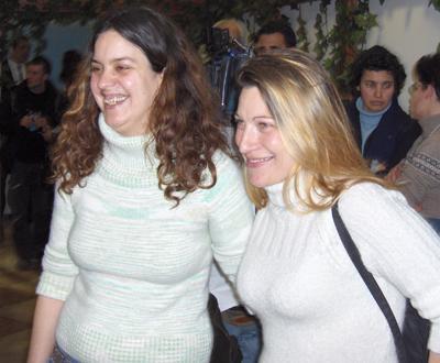 Lena e Teresa: primeira tentativa de casamento lésbico em Portugal Foto por Ricardo Carvalho)