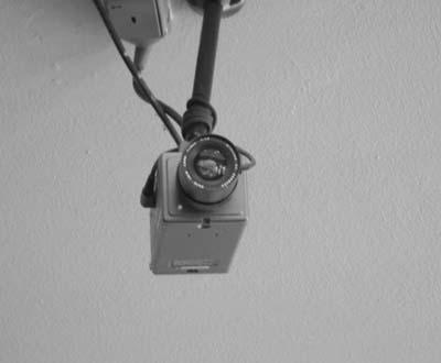câmara de videovigilância