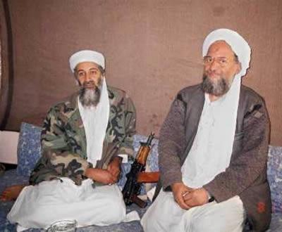 Osama bin Laden e Ayman al-Zawahiri