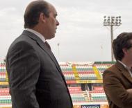«Novo» Estádio José Gomes: presidente António Oliveira