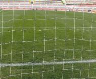 «Novo» Estádio José Gomes: atrás da baliza