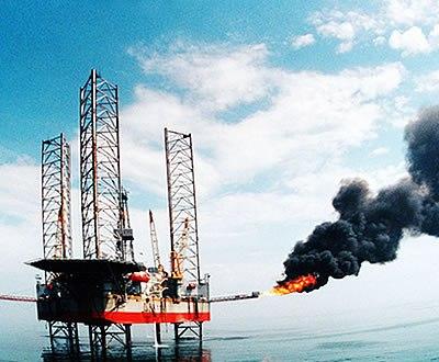 Plataforma petrolífera (arquivo)