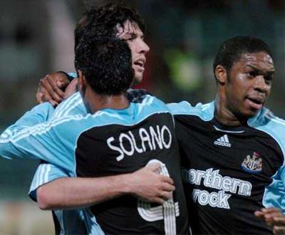 Taça UEFA: Palermo-Newcastle