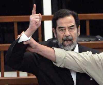 Saddam Hussein condenado à morte