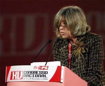 Helena Roseta no congresso do PS (Foto Paulo Novais/Lusa)