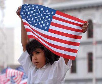Manifestação contra lei de imigração nos Estados Unidos da América