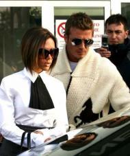 O casal Victoria e David Beckham (Foto Lusa)