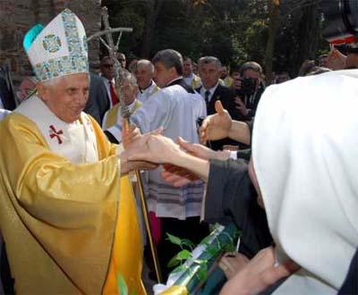Papa na Turquia (foto de arquivo)