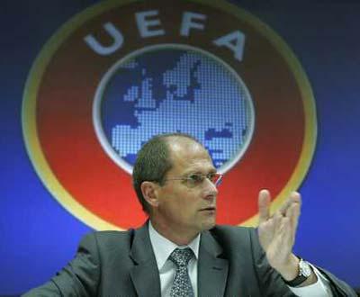 Lars-Christer Olsson, presidente da UEFA