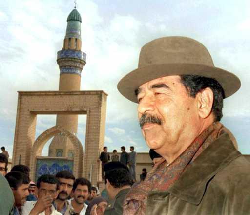 Retratato de Saddam (Foto Lusa)