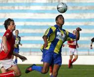 Atlético-Santa Clara: Artur Jorge Vicente em acção (Foto LUSA)