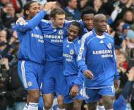 Chelsea: festa com Drogba e Shevchenko.