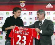 David Luiz e Luís Filipe Vieira