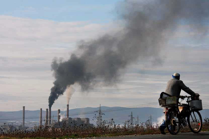 Evidências do aquecimento global (Foto Lusa)