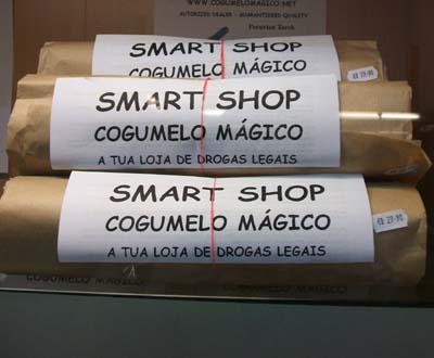 A loja do «Cogumelo Mágico»