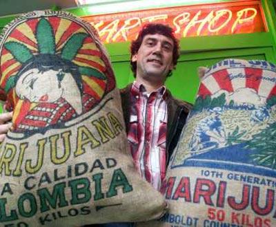 Carlos Marabuto, proprietário da «Cogumelo Mágico»