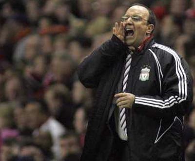 Rafa Benitez, treinador do Liverpool