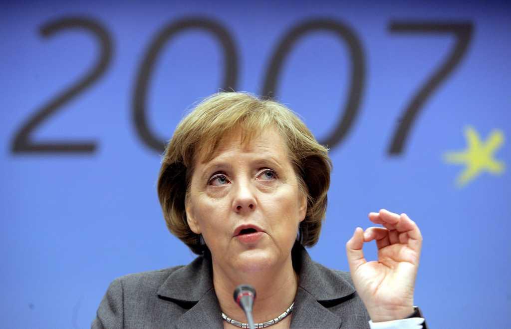 Angela Merkel (Olivier Hoslet/EPA/Lusa)