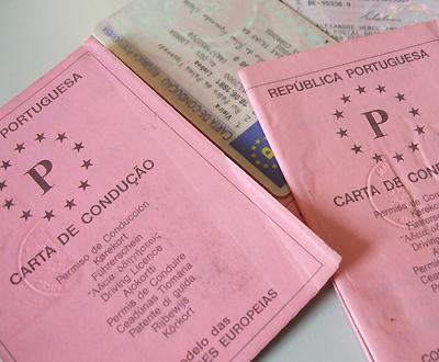 Carta de Condução (Arquivo PD - Foto Cláudia Lima da Costa)