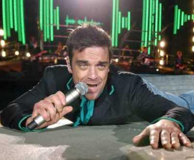 Robbie Williams (foto Lusa)