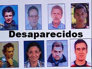Desaparecidos: Centenas de famílias em angústia