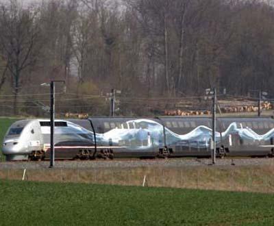 TGV francês bateu novo recorde de velocidade (Foto Lusa)