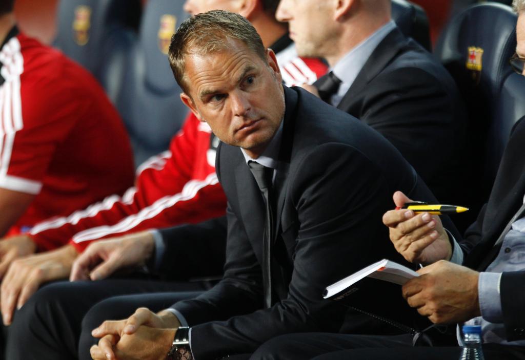 Frank de Boer (foto Reuters)