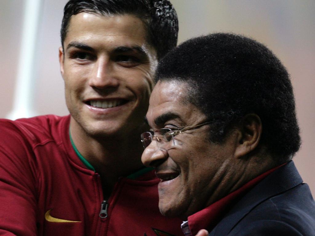 Cristiano Ronaldo e Eusébio