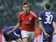 Gaitán marcou em Bruxelas