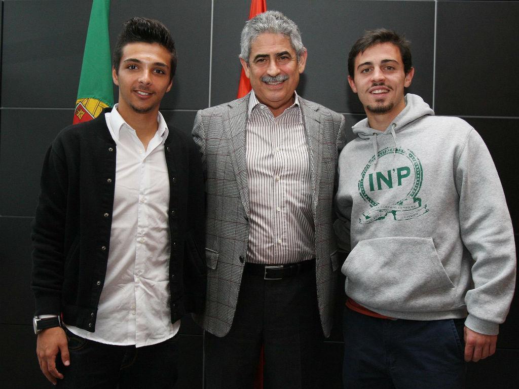 Bernardo Silva e Rochinha renovaram contratos