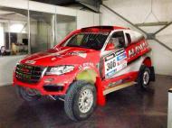 Carro de Carlos Sousa para o Dakar