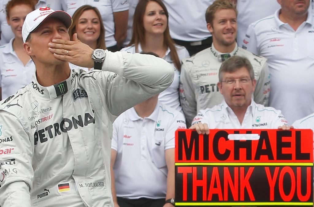 Schumacher (foto Reuters)