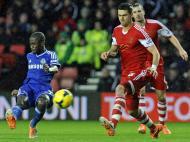 Ramires (Chelsea) e José Fonte (Southampton)