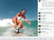 Maya Gabeira de regresso ao mar