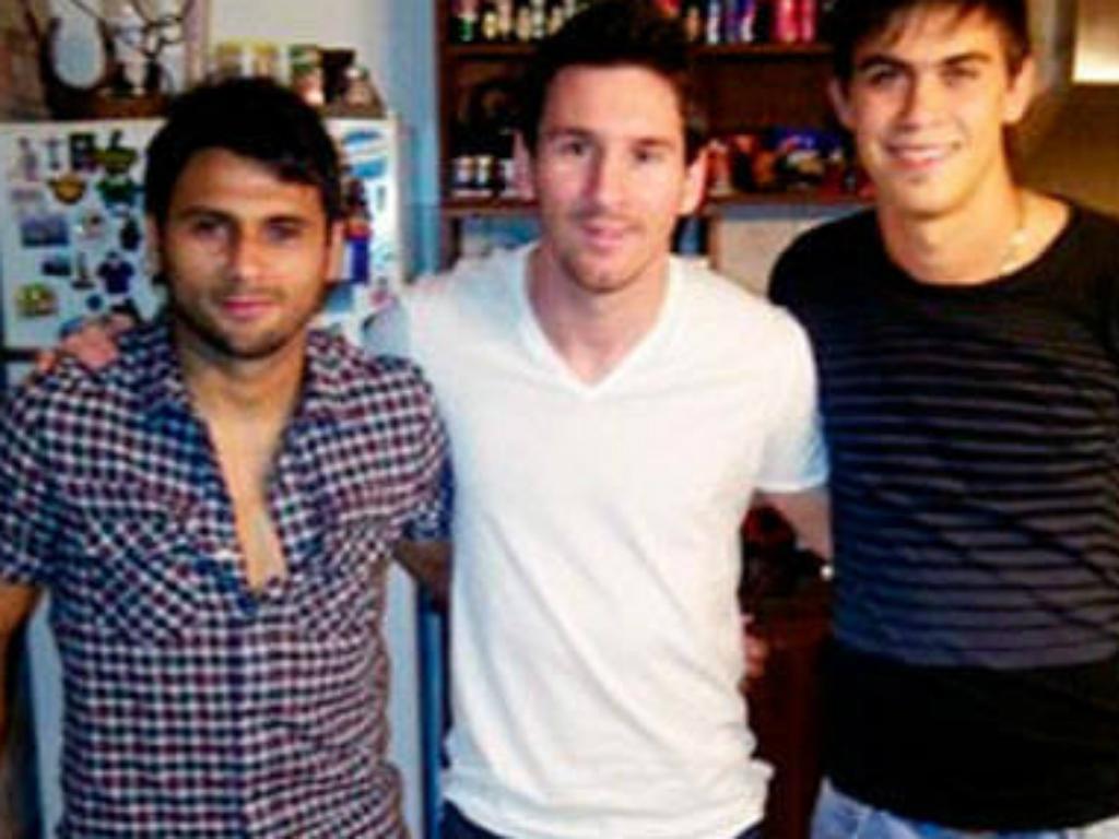 Primos de Messi no Bahia