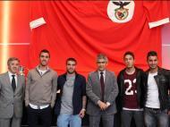 Benfica renova com quatro jogadores da formação (foto: SL Benfica)