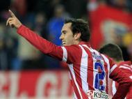 Atlético Madrid vence At. Bilbao na Taça (EPA)