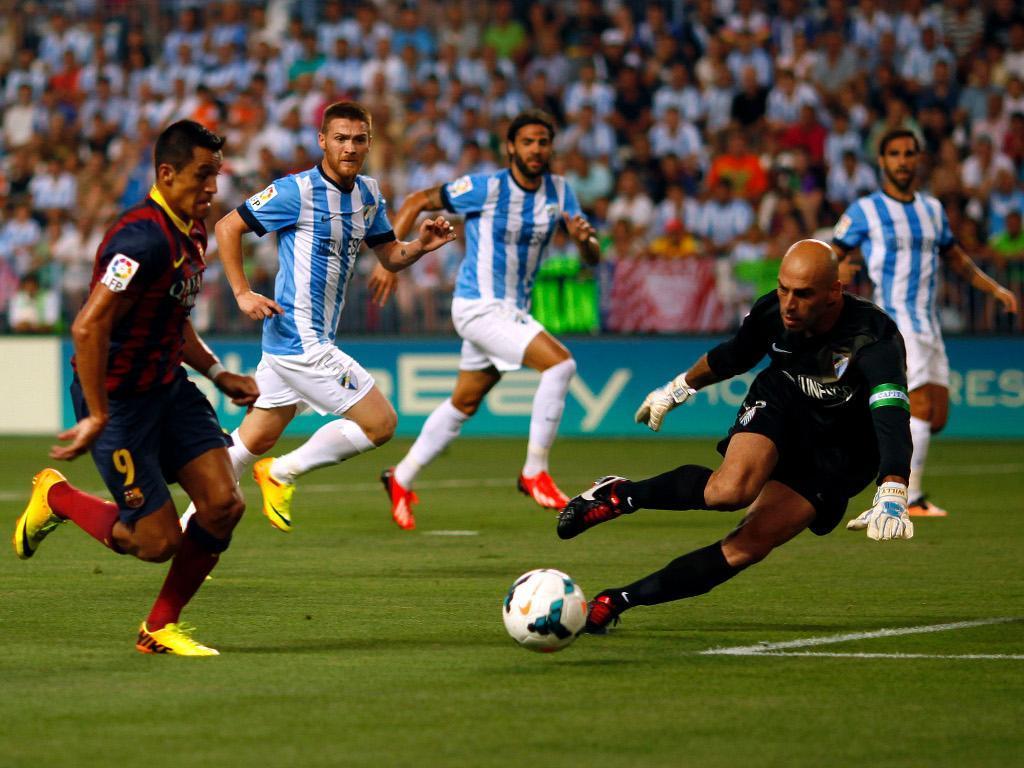 Barcelona-Málaga, 2012/13