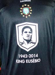 Seleção das Instituições Europeias - Homenagem ao Eusébio