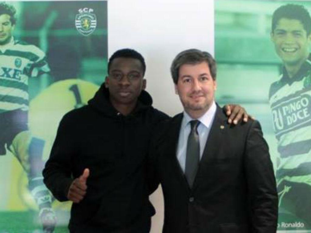 Ousmane Dramé (FOTO: Sporting.pt)