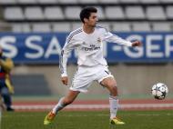 Enzo Zidane na Youth League contra o Paris Saint-Germain (Reuters)