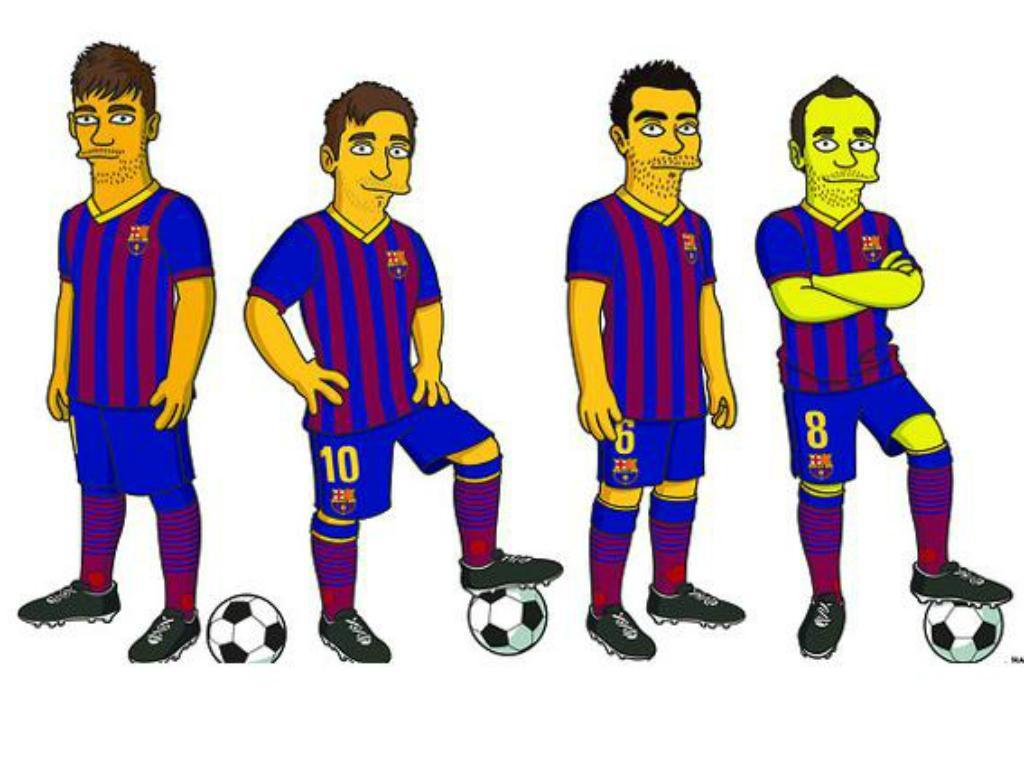 Simpsons Barça