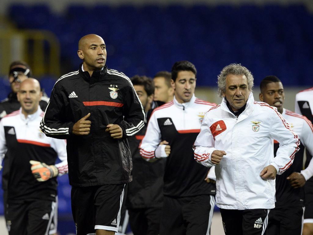Benfica prepara Tottenham (LUSA)