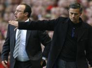 Benitez e Mourinho (Reuters)
