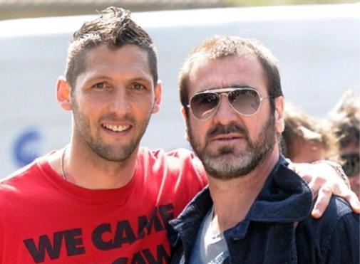Materazzi e Cantona